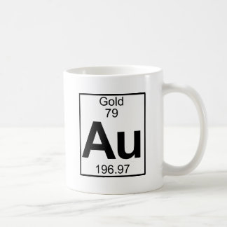 Element 079 - Au - Gold (Full) Coffee Mug