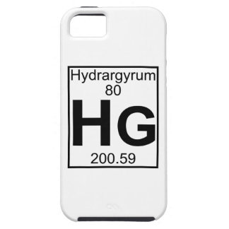 Element 080 - Hg - Hydrargyrum (Full) iPhone 5 Case