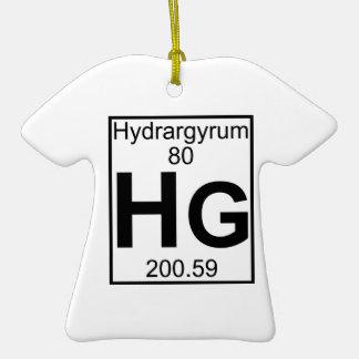 Element 080 - Hg - Hydrargyrum (Full) Christmas Ornaments