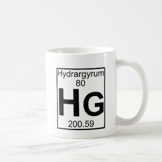 Element 080 - Hg - Hydrargyrum (Full) Mug