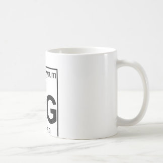Element 080 - Hg - Hydrargyrum (Full) Coffee Mug