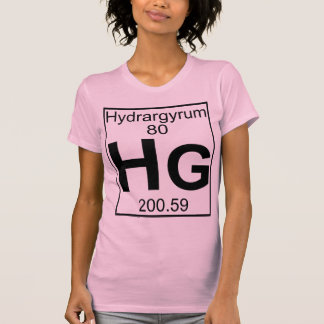Element 080 - Hg - Hydrargyrum (Full) Tees