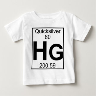 Element 080 - Hg - Quicksilver (Full) Baby T-Shirt