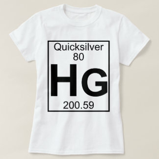 Element 080 - Hg - Quicksilver (Full) T-Shirt