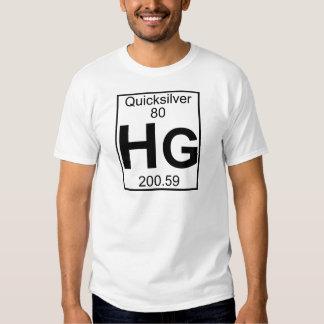 Element 080 - Hg - Quicksilver (Full) Tshirt