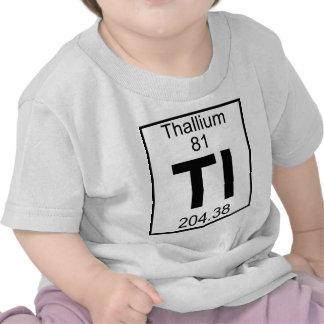 Element 081 - Tl - Thallium Full Tee Shirts