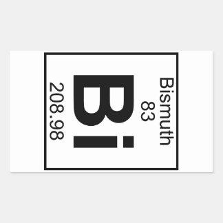 Element 083 - Bi - Bismuth (Full) Rectangle Stickers