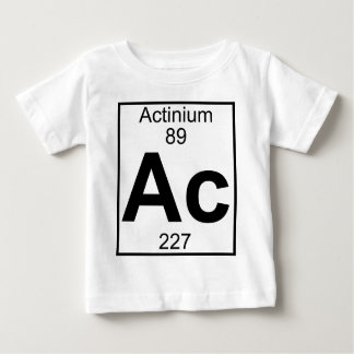 Element 089 - Ac - Actinium (Full) Baby T-Shirt
