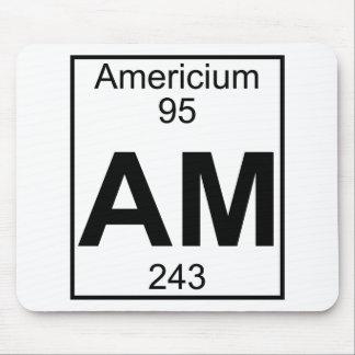 Element 095 - Am - Americium Full Mouse Pad
