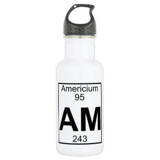 Element 095 - Am - Americium (Full) 532 Ml Water Bottle
