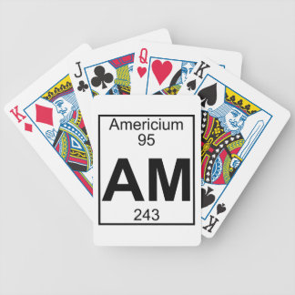 Element 095 - Am - Americium Full Playing Cards