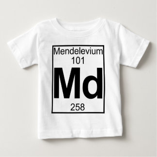 Element 101 - Md - Mendelevium (Full) T-shirts