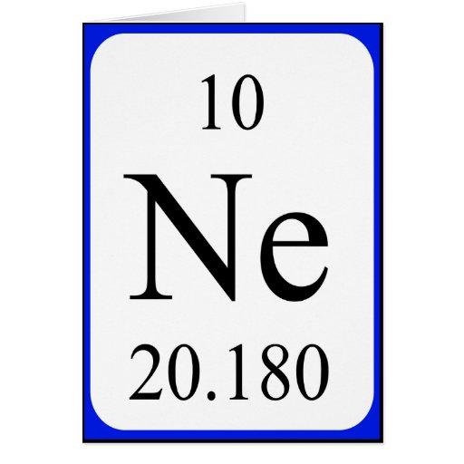 element 10 card neon zazzle