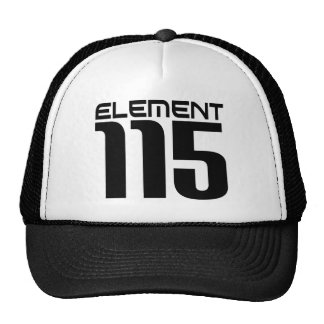 Element 115 (black) cap