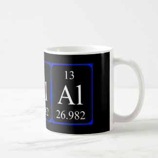 Element 13 mug - Aluminium