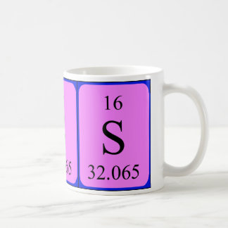Element 16 mug - Sulphur
