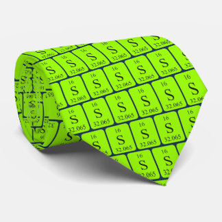 Element 16 Sulphur tie Transparent graphics