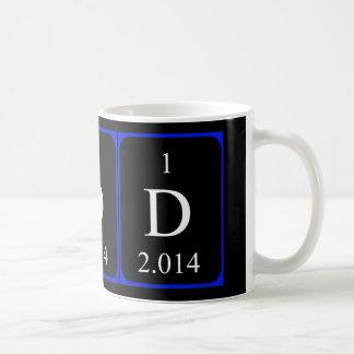 Element 1a mug - Deuterium