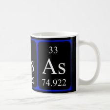mug featuring the element Arsenic