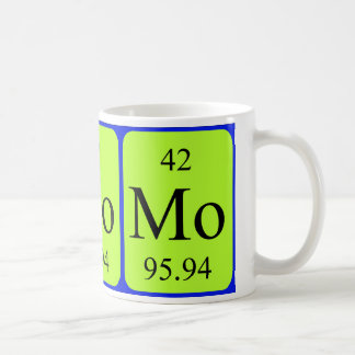 Element 42 mug - Molybdenum