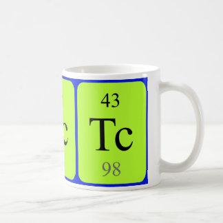Element 43 mug - Technetium
