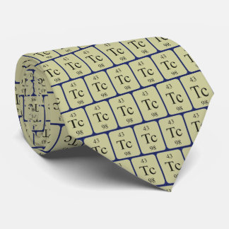 Element 43 Technetium tie Transparent graphics