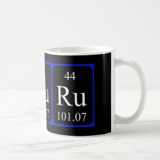 Element 44 mug - Ruthenium