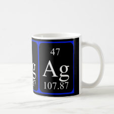 mug featuring the element Silver
