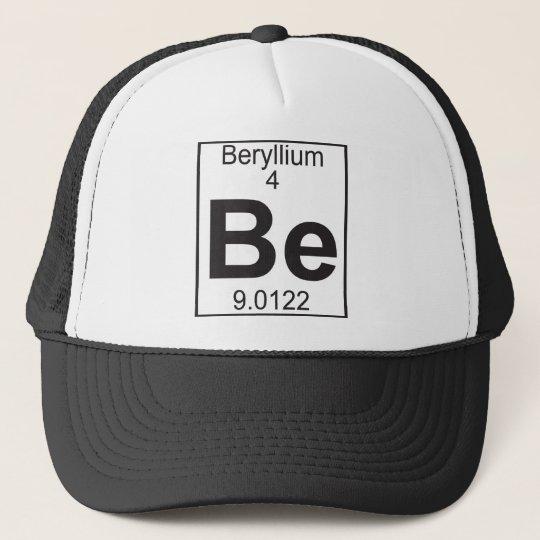 Element 4 - be (beryllium) cap