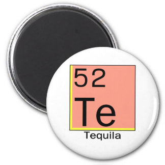 Element 52: Tequila 6 Cm Round Magnet