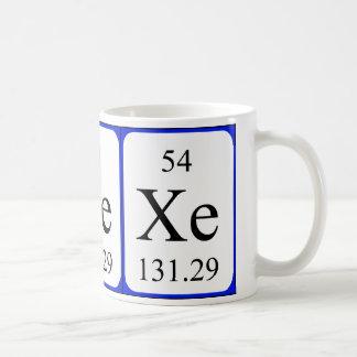 Element 54 mug - Xenon