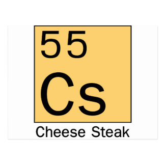 Element 55: Cheese Steak Post Cards