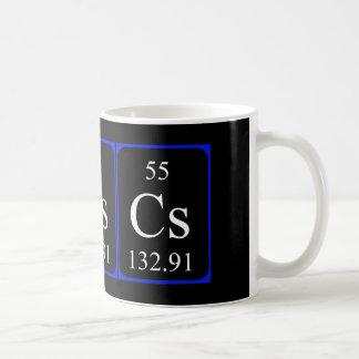 Element 55 mug - Caesium
