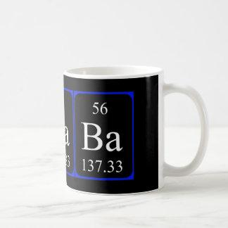 Element 56 mug - Barium