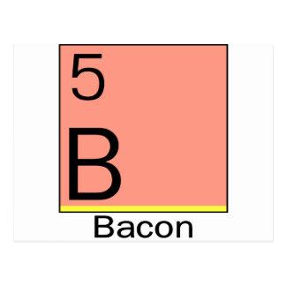 Element 5 Bacon Postcards