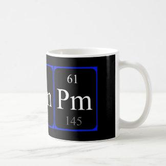 Element 61 mug - Promethium