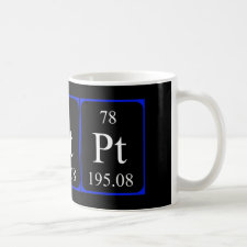 mug featuring the element Platinum