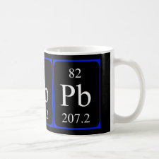 mug featuring the element Lead