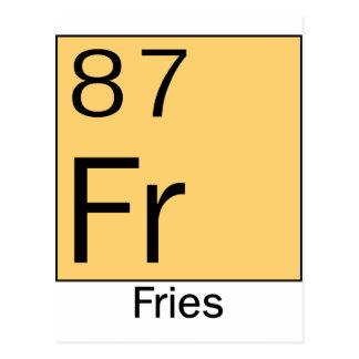 Element 87 Fries Postcards