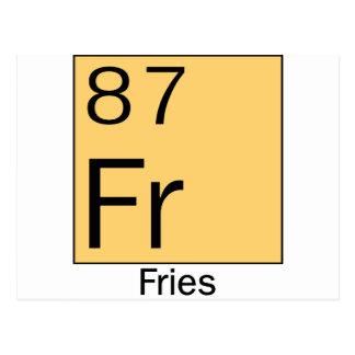 Element 87 Fries Postcard