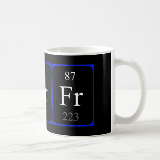 Element 87 mug - Francium