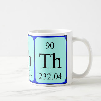 Element 90 mug - Thorium