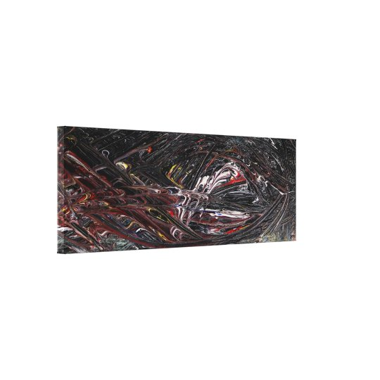 Element Abstract Painting Canvas Print