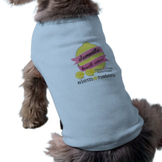 Element Breast Cancer - For Dogs Blue Sleeveless Dog Shirt