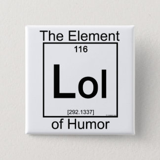 Element LOL 15 Cm Square Badge