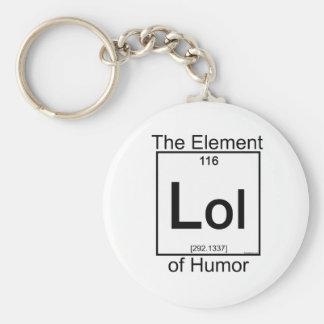 Element LOL Basic Round Button Key Ring