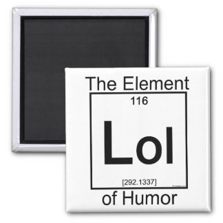 Element LOL Fridge Magnets