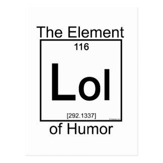 Element LOL Postcard