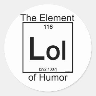 Element LOL Sticker