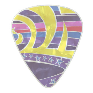 Element Magic Pearl Celluloid Guitar Pick